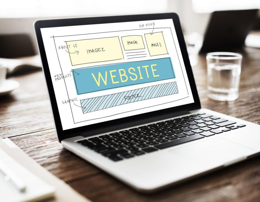 Návrh webovej stránky